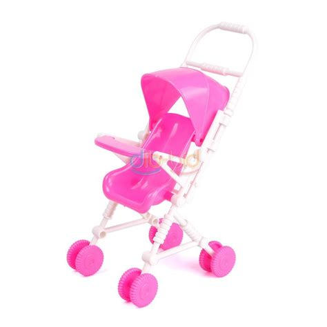 New Pink Plastic Walker 1 6 For Doll S House Dollhouse Miniatur pink plastic walker 1 6 stroller trolley for doll dollhouse miniature uk ebay