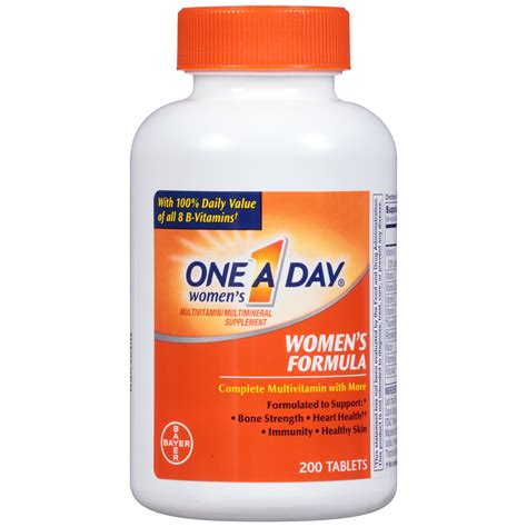 Vitamin Wellness one a day multivitamin multimineral s tablets 200 tablets health wellness