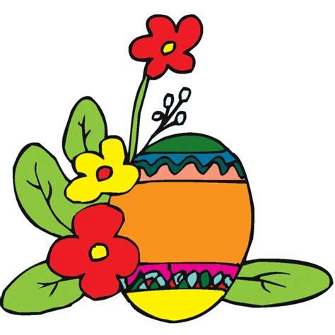 disegni di fiori a colori disegno di uova di pasqua con fiori a colori per bambini
