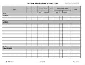 Blank Balance Sheet Template by 8 Blank Balance Sheet Bookletemplate Org
