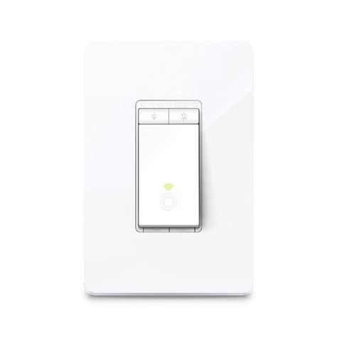 wifi light switch dimmer hs220 kasa smart wi fi light switch dimmer tp link