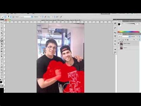 photoshop cs3 quick mask tutorial photoshop cs5 tutorial quick mask mode tool youtube