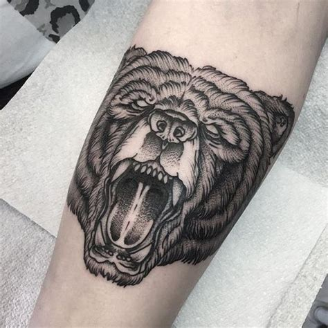 me to you bear tattoo designs roaring design www pixshark images