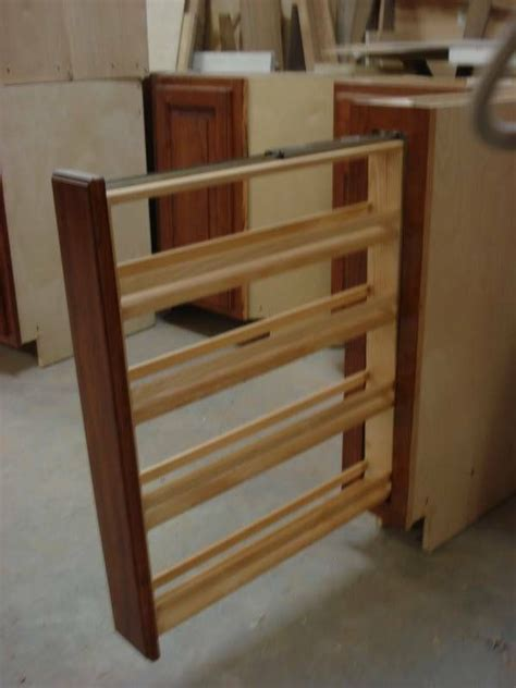 k chenschrank pull out spice rack pullout spice rack its a must in my home