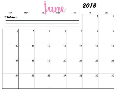 free printable blank calendar june 2018 free printable blank monthly calendar 2018 calendar 2018