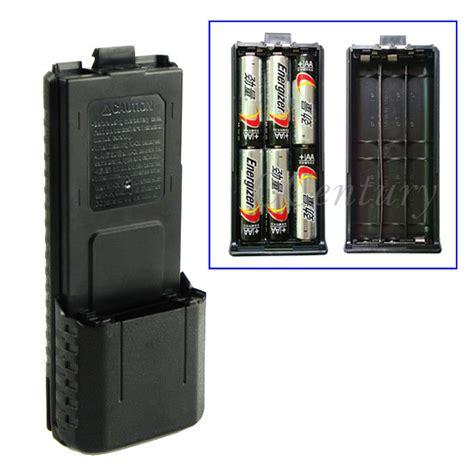 Taffware Walkie Talkie Extended Battery 3800mah For Baofeng Hitam 5x 3800mah extended battery pack for baofeng walkietalkie ham radio transceiver uv 5rb uv