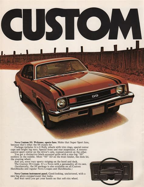 wallpaper catalog pdf gm 1974 chevrolet nova sales brochure