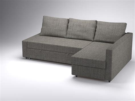 Model Sofa Bed Corner Sofa Bed Friheten Ikea 3d 3ds