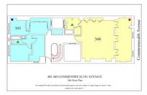 myles standish hall floor plan 481 483 commonwealth avenue 187 housing boston university