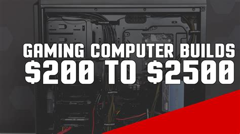 best budget pc gaming laptops 2015 500 1000 1500 2000 building a gaming computer in 2018 15 custom pc builds