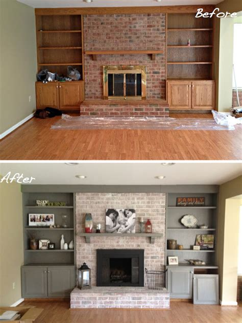 Kitchen Remodel Ideas Pinterest by Before Amp After 15 Fireplace Surrounds Made Over Page 2