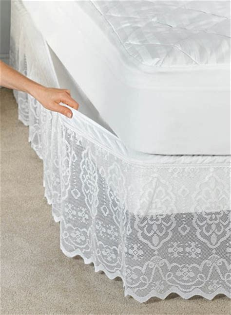 lace bed skirt 17 best ideas about lace bedding on pinterest bedskirts