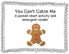 printable emergent reader gingerbread man 1000 images about gingerbread man unit ideas on pinterest