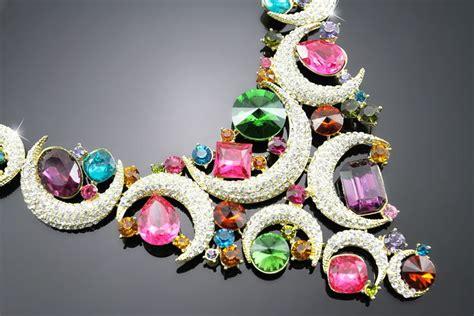 colorful gems jewelry set xcitefun net