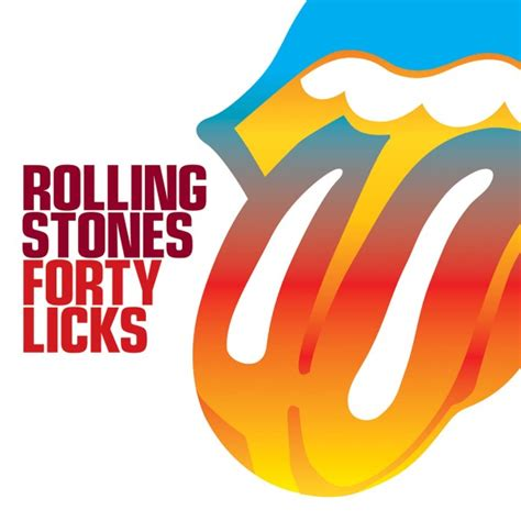 forty licks the rolling stones