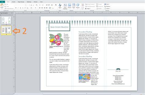 membuat tempat brosur dari karton cara membuat brosur dari ms publisher 2010 asna ullya
