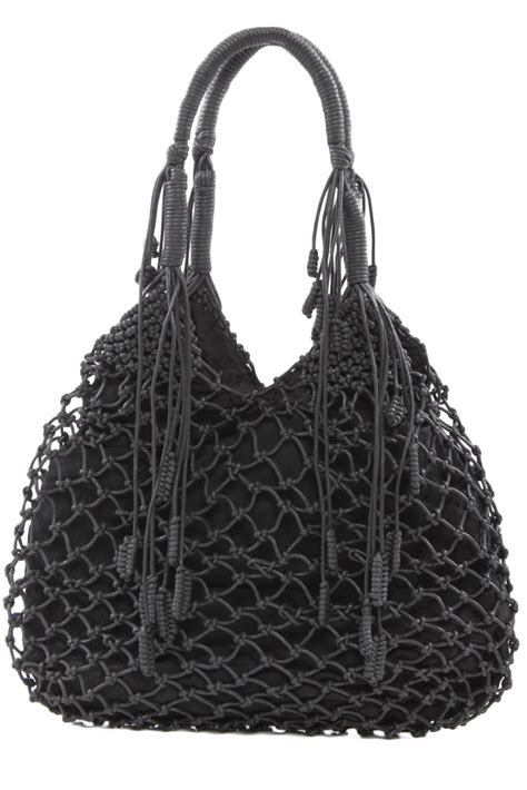 Macrame Bags - monserat de lucca macrame bag from houston by 224 bient 244 t
