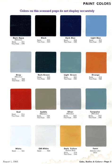 chevy paint color chart 2013 autos post