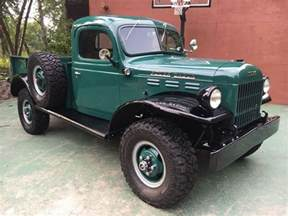 Dodge Powerwagon If You Want Leather And Luxury Maybe This 1947 Dodge