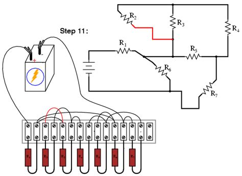 resistors in series parallel and combination circuits building series parallel resistor circuits