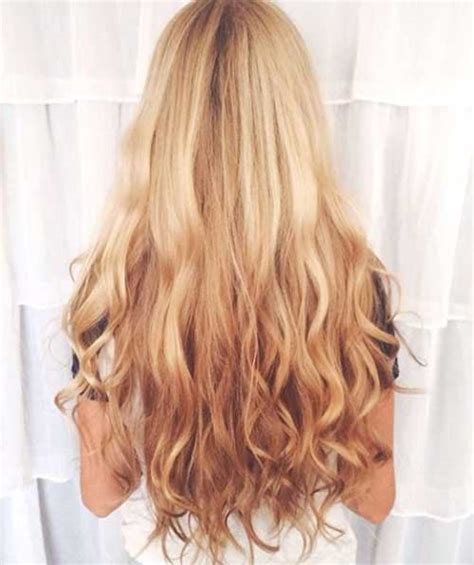 reverse ombre hair color for blonde hair 100 best long blonde hairstyles