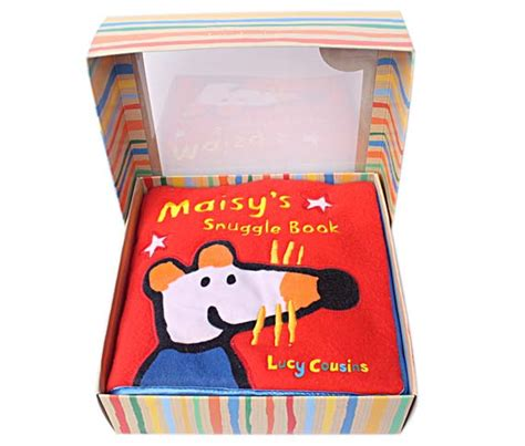 Tiny Sided Book Mainan Bayi maisy s snuggle book