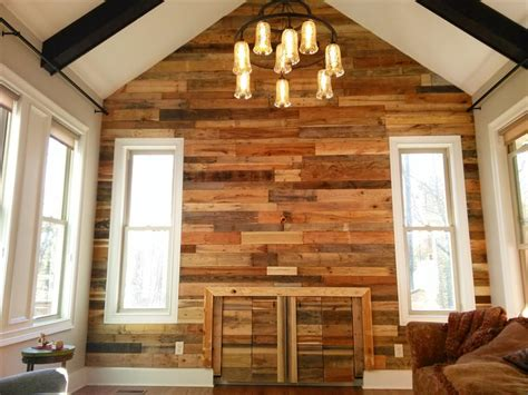 Interior Siding Ideas Diy Wood Pallet Wall Ideas And Paneling