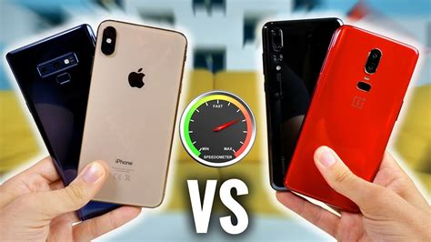 iphone xs max vs note 9 vs p20 pro vs oneplus 6 rapidit 233