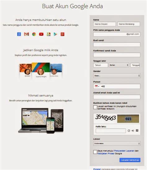 membuat akun gmail di google cara membuat alamat email di gmail google