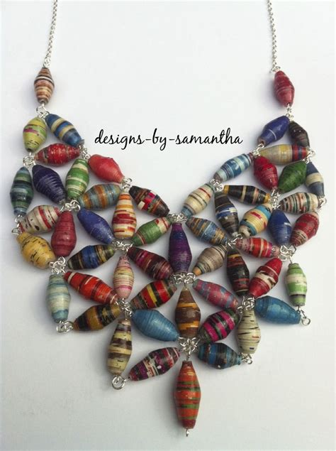 Paper Jewellry - best 25 paper bead jewelry ideas on