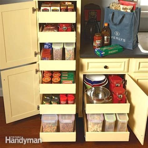 Adding Pull Out Shelves To Cabinets - add shelves to cabinets 6 kitchen storage cabinets how to