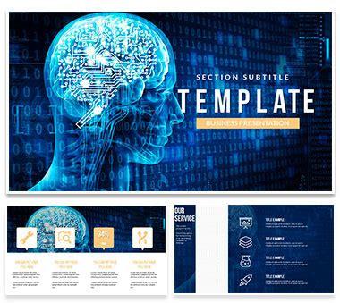 Artificial Intelligence Brain Powerpoint Presentations Artificial Intelligence Ppt Template Free