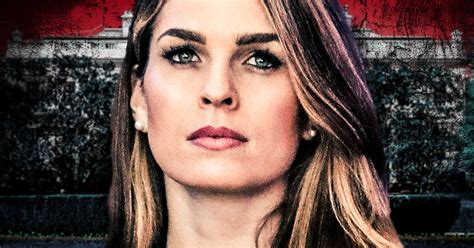 hope hicks voice hope hicks quits after admitting that her job is to lie