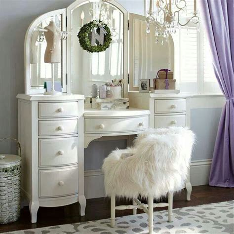girls bedroom vanity wei 223 er schminktisch home living pinterest vanities