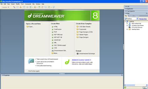 tutorial dreamweaver 8 dengan xp jual dreamweaver 8 murah agunkz screamo blog agung