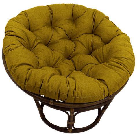 46 Inch Patio Chair Cushions 46 Inch Outdoor Fabric Tufted Papasan Cushion Dcg Stores