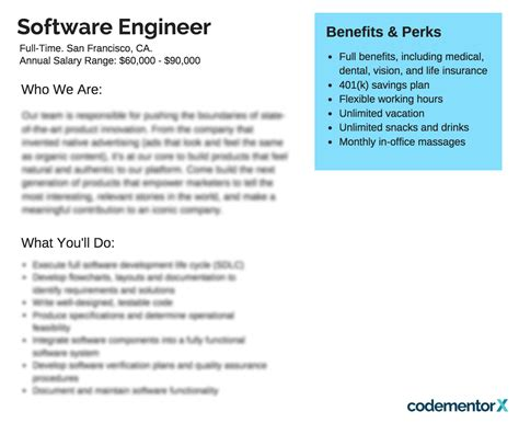 Software Engineer Responsibilities by Software Engineer Descriptions That Attract The Best
