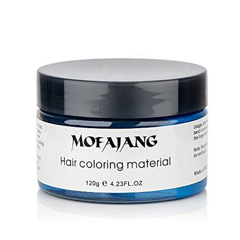Pomade Romper hailicare blue hair wax 4 23 oz professional hair pomades matte hairstyle max for