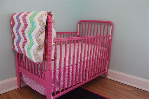 Pink Cribs by Is It Safe To Paint A Crib Rookie