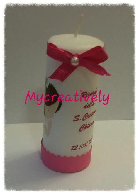 candela bomboniera bomboniera candela comunione o cresima feste