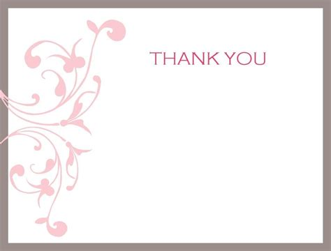 Publisher Thank You Card Template by Thank You Note Cards Template Business Template