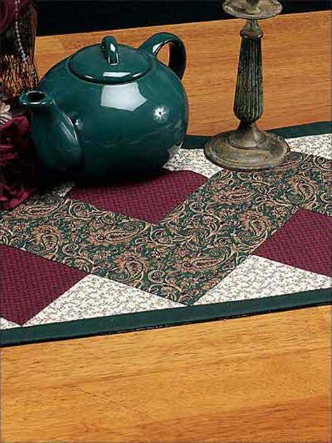 pattern for zig zag table runner un chemin de table en zig zag chez elkalin com