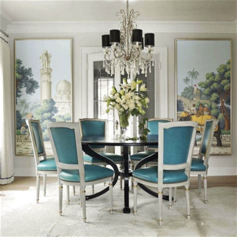 house beautiful dining rooms the glam pad hand painted chinoiserie dining rooms