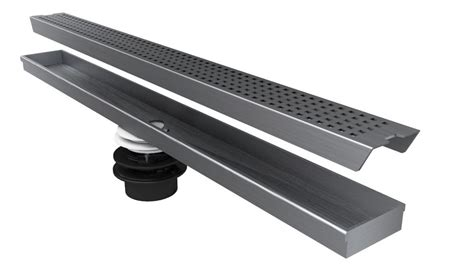 Linear Shower Drain Home Depot by Jag Plumbing Products Geotop Linear Shower Drain 32 Inch