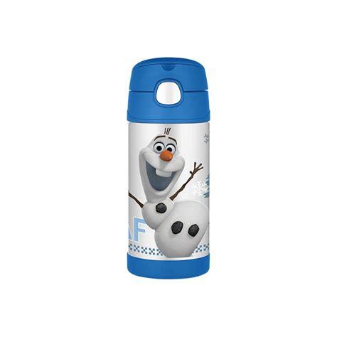 Thermos Disney thermos funtainer bottle disney frozen olaf 12 oz