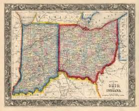 Indiana Ohio Map by Indiana Ohio Map Quotes