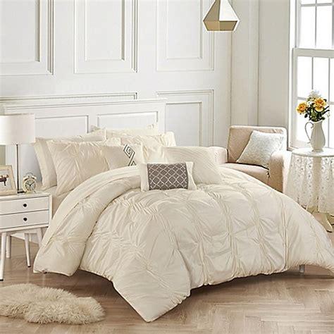 beige comforter set king buy chic home voni 10 king comforter set in beige