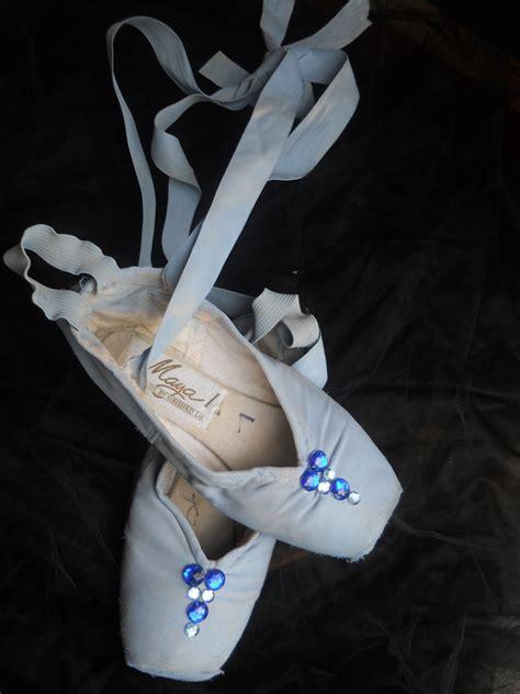blue ballet shoes blue bird princess ballet slippers by summerhavendesigns