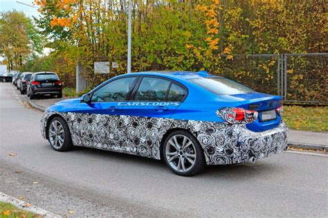 facelifted  bmw  series sedan spotted  germany