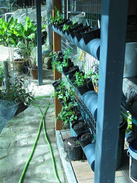 vertical garden from pvc pipe ordinary 2 extraordinary